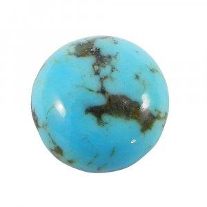 Arizona Turquoise 13mm Round Cabochon 6.7 Cts