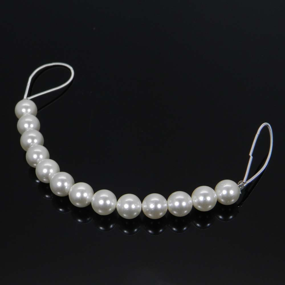 Best Deal Offer ! 13 Pcs White Pearl Roundel Smooth Plain Beads 13mm 4 Inch 48.25 Cts
