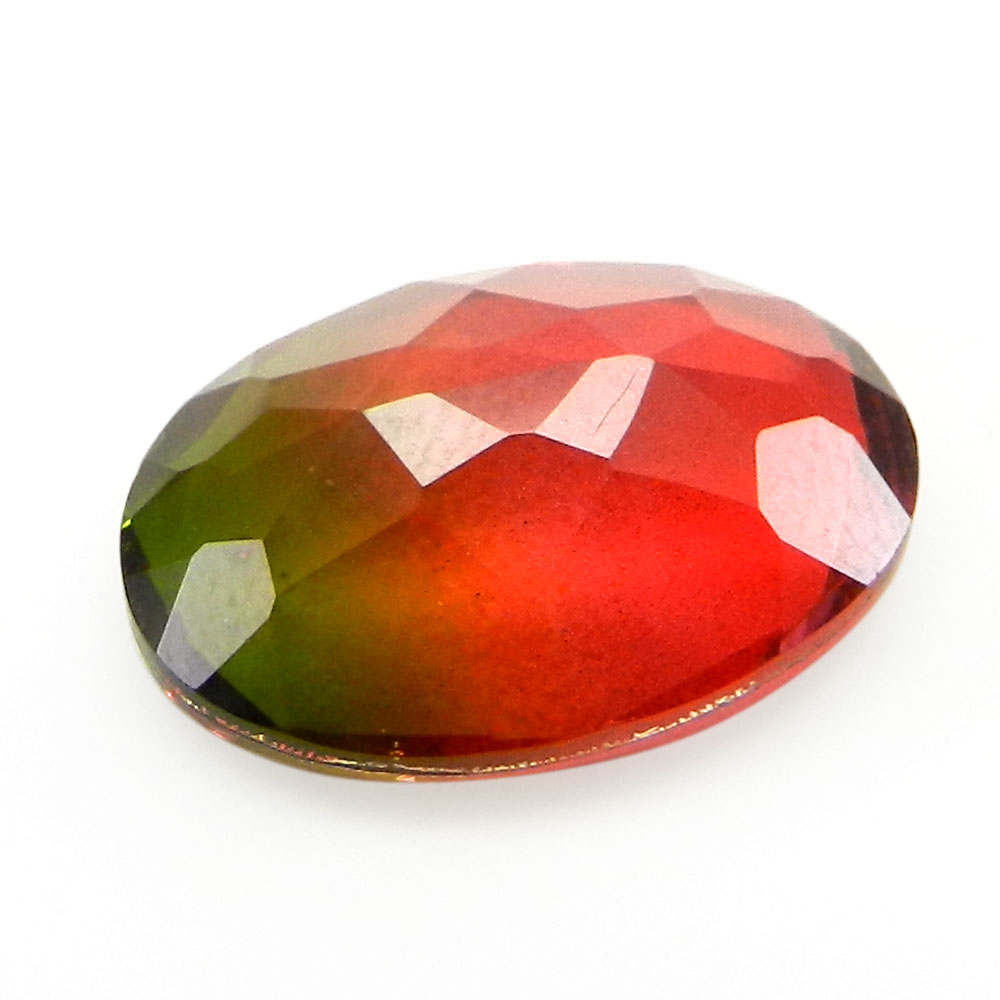 Bio Color Doublet 13x18mm Oval Cut 9.5 Cts