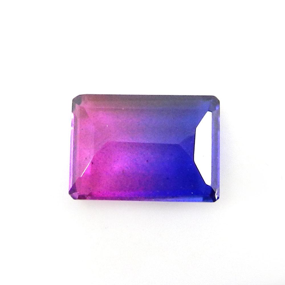 Bio Color Doublet 14x10mm Rectangle Cut 6.7 Cts