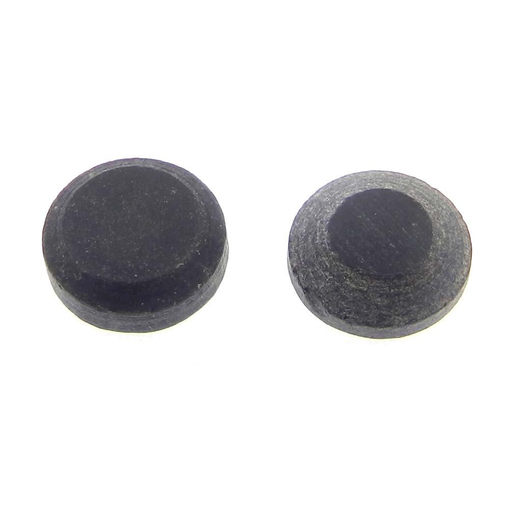 Black Onyx 10mm Round Tablet Cut 3.4 Cts