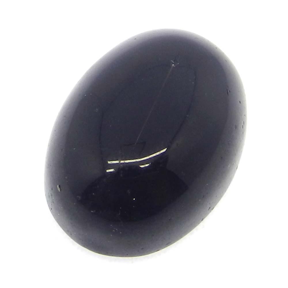 Black Onyx 18x13mm Oval Cabochon 16.0 Cts