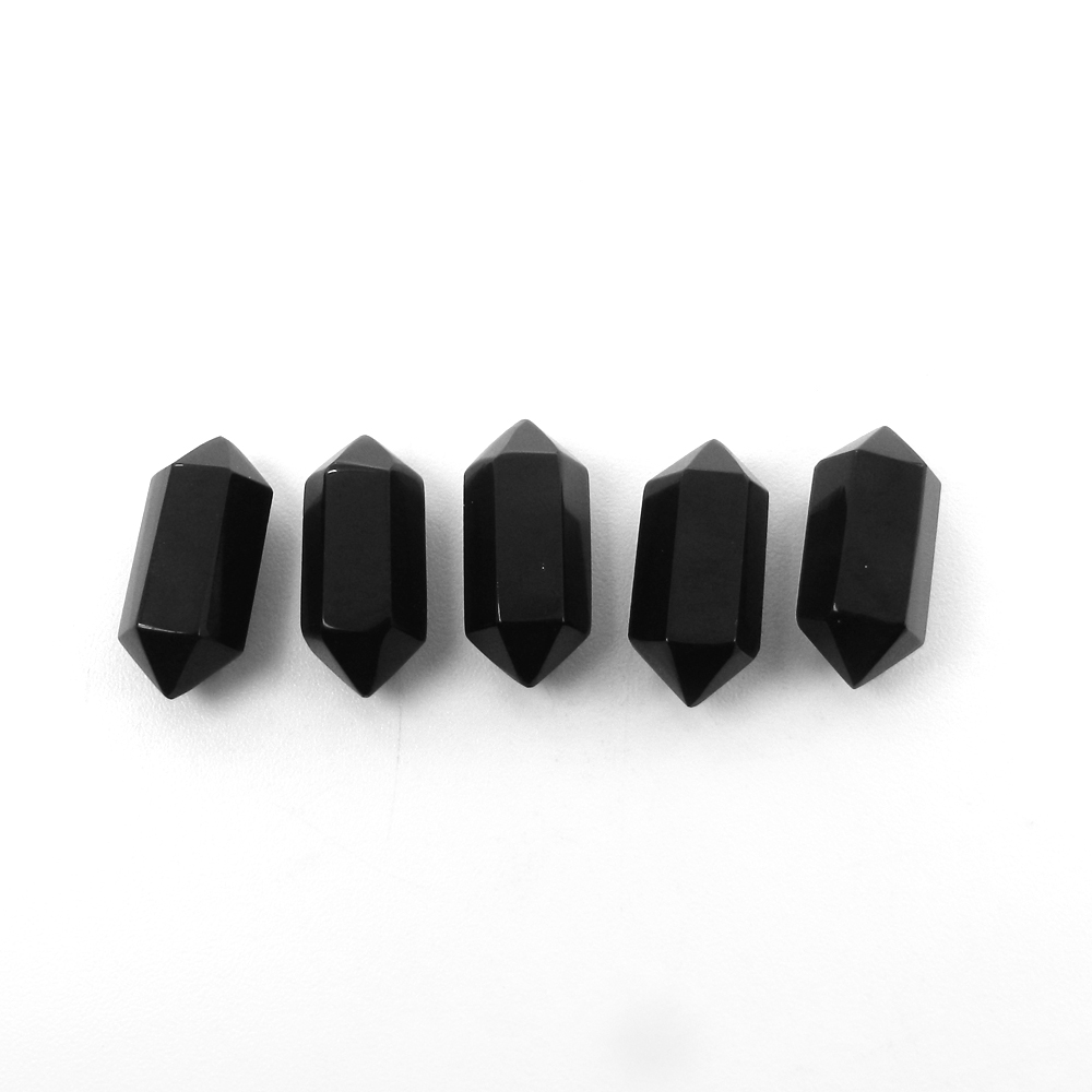Black Onyx 20x8mm Double Terminated Pointed Pencil 11.20 Cts