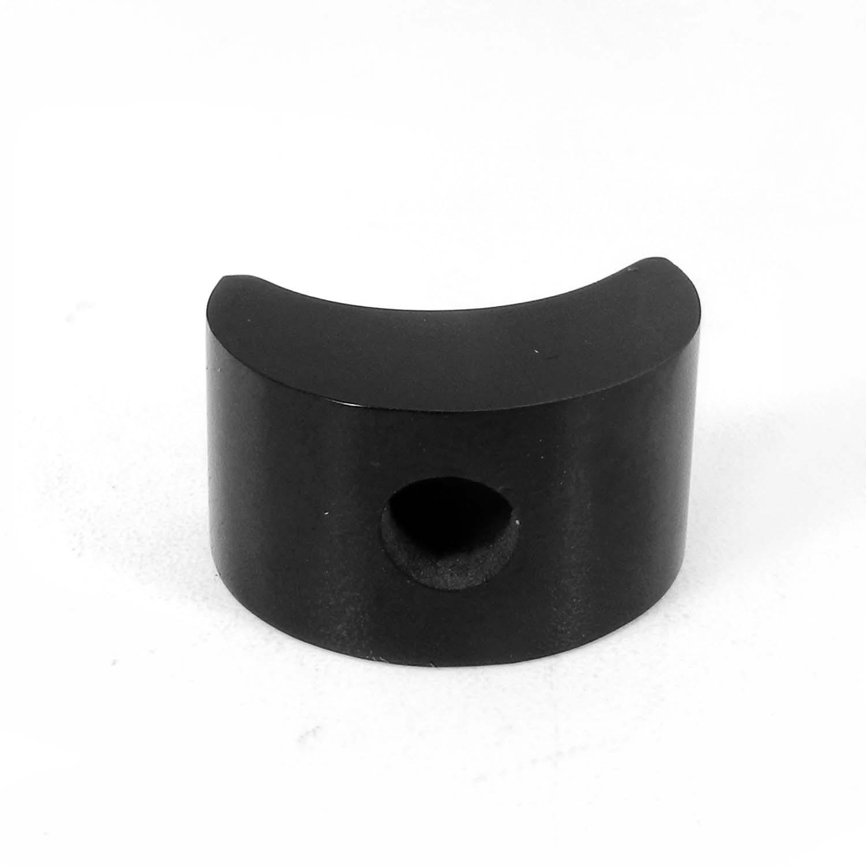 Black Onyx 22x12mm Fancy 5mm Half Drill 34.25 Cts