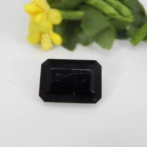 Black Tourmaline 14x10mm Octagon Baguette Cut 8.60 Cts