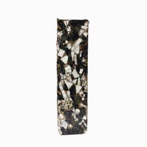 Black Tourmaline Howlite Copper Mohave 134x36mm Rough Slab 879.60 Gms
