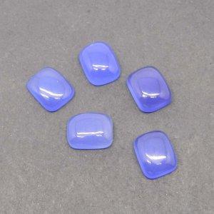 Blue Chalcedony 10x8mm Cushion Cabochon 2.55 Cts