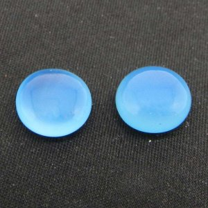 Blue Chalcedony 11mm Round Briolette Cut 4.75 Cts