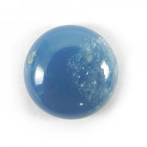 Blue Opal 12mm Round Cabochon 4.45 Cts