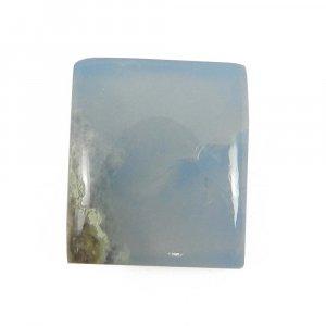 Blue Opal 15x13mm Rectangle Cabochon 8.0 Cts