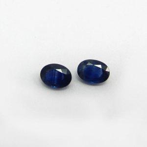 Blue Sapphire 7x5mm Oval Cut 0.97 Cts