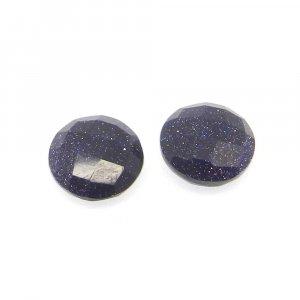 Blue Sunstone 10mm Round Briolette Cut 3.0 Cts