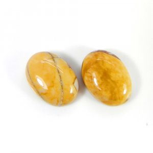 Brecciated Mookaite 14x10mm Oval Cabochon 5.60 Cts