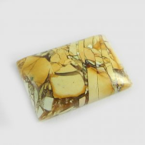 Brecciated Mookaite 25x18mm Rectangle Cabochon 20.75 Cts