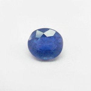 Ceylon Blue Sapphire 11.2x10mm Oval Cut 6.9 Cts