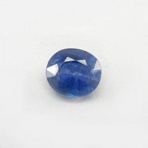 Ceylon Blue Sapphire 11x10mm Oval Cut 6.2 Cts