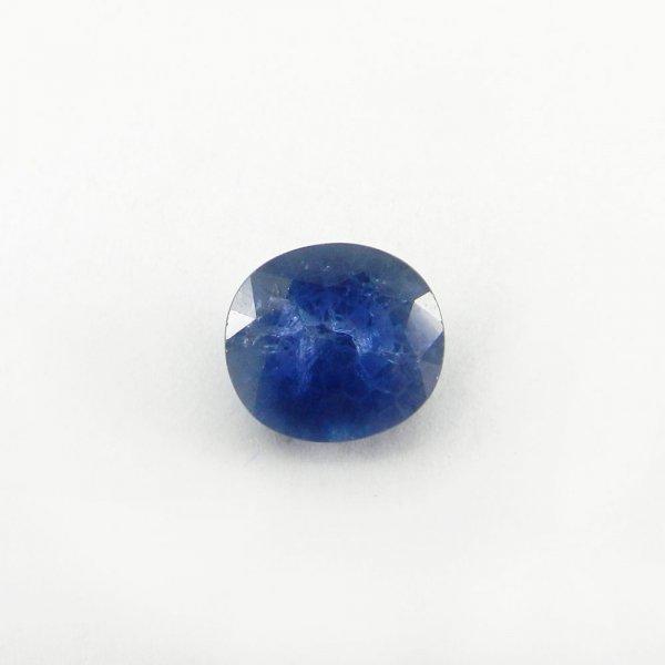 Ceylon Blue Sapphire 11x10mm Oval Cut 7.5 Cts