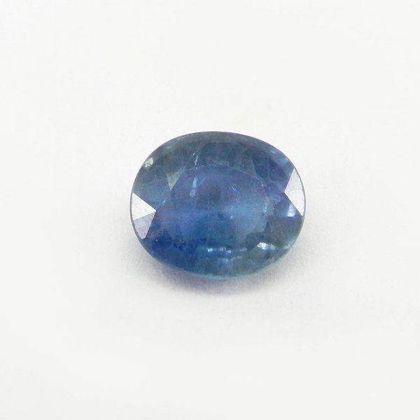 Ceylon Blue Sapphire 12x10mm Oval Cut 6.8 Cts