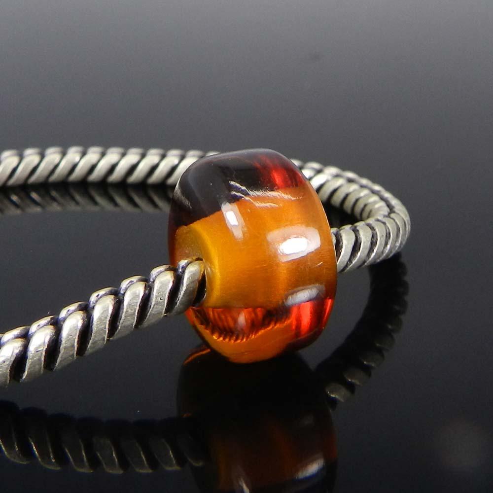 Champagne Quartz 14x8x5mm Roundel Smooth Beads