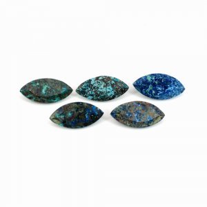 Chrysocolla Marquise Faceted 4.05 Cts 15x7mm