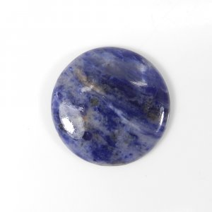 Classic Sodalite 23mm Round Cabochon 15.20 Cts
