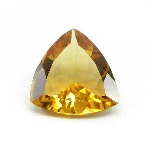 Cognac Quartz 12mm Trillion Cut 4.3 Cts