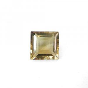 Color Change Ametrine Gemstone 10x10mm Square Cut 5.05 Cts