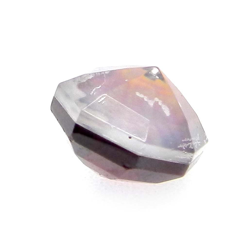 Crystal And Mop And Garnet Hydro Triplet 10x10mm Fancy 6.8 Cts
