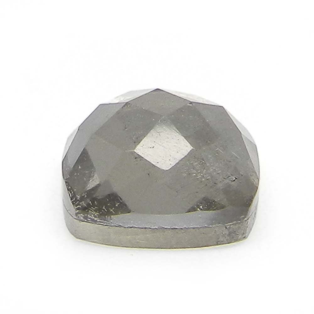 Crystal And Pyrite Doublet 10x10mm Cushion Cut 6 Cts