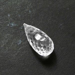 Crystal Quartz 27x12mm Concave Hide & Seek Cut 26.50 Cts