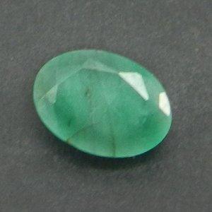 Emerald 7X5mm Oval Cut 0.6 Cts