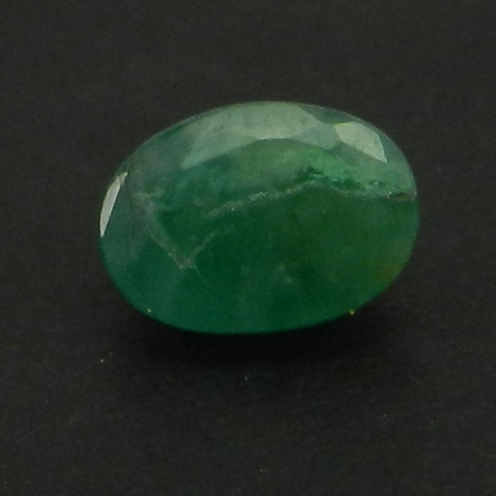 Emerald 7X5mm Oval Cut 0.8 Cts