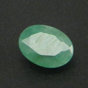 Emerald 7X5mm Oval Cut 0.9 Cts