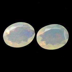 Ethiopian Opal 9x7mm Oval Cut 1 Cts