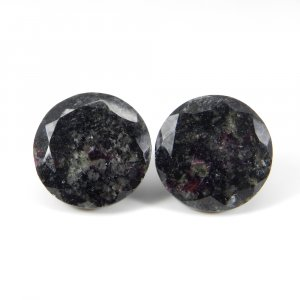 Eudialyte 18mm Round Faceted Cut 21.90 Cts