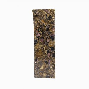 Eudialyte Black Onyx Copper Mohave 129x38mm Rough Slab 935.00 Gm