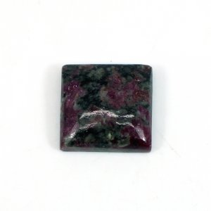 Eudialyte Gemstone Square Cabochon 17x17mm 21 Cts