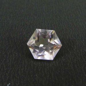 Exclusive Ametrine Gemstone 10mm Hexagon Cut 6.80 Cts