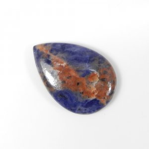 Exclusive Sodalite 26x17mm Pear Cabochon 14.35 Cts