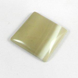 Flint Jasper 25x25mm Square Cabochon 33.5 Cts