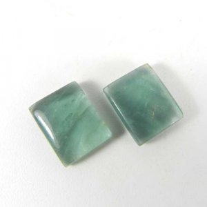 Fluorite 12x10mm Rectangle Cabochon 6.05 Cts