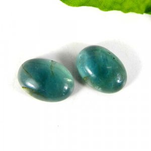 Fluorite 14x10mm Oval Cabochon 6.65 Cts