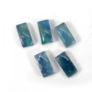 Fluorite 14x7mm Rectangle Cabochon 6.30 Cts
