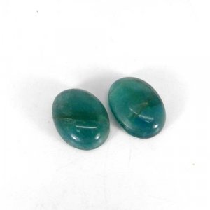 Fluorite 16x12mm Oval Cabochon 9.00 Cts