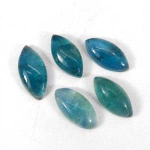 Fluorite 18x9mm Marquise Cabochon 7.30 Cts