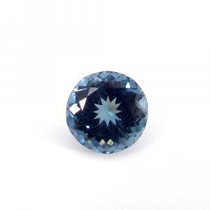 Genuine Blue Tourmaline Gemstone 9mm Round Faceted Cut 3.00 Cts