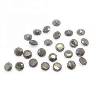 Golden Pyrite 3mm Round Cut 0.21 Cts