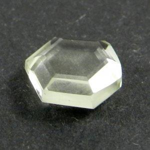 Green Amethyst 11x10mm Hexagon Tablet Cut 3.6 Cts