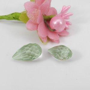 Green Amethyst 13x7mm Tear Drop Concave Cut 4.70 Cts