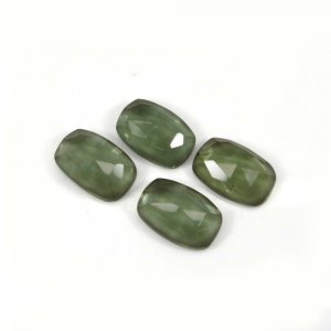 Green Amethyst Hydro 20x13mm Rectangle Cushion Cut 16.80 Cts